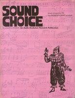 Sound Choice, No.1, Jan/Feb 1985