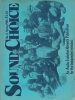 Sound Choice, No.4, Spring 1986