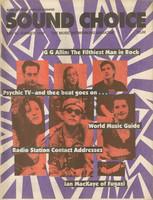 Sound Choice, No.15, Summer 1990
